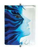 Blue Amayona Wall Mask