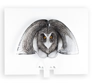 The Guardian Owl Wall Sculpture