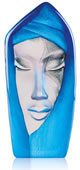 Crystal Masq Batzeba Sculpture, Blue