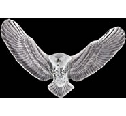 Bald Eagle Crystal Wall Sculpture