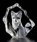 Baby Fox Crystal Figurine