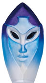 Crystal Thalia Mask Figurine