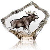 Crysal Moose Figurine