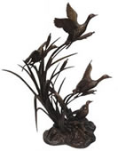 Flying Geese Bronze Sculpture