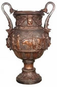 Egyptian Bronze Urn
