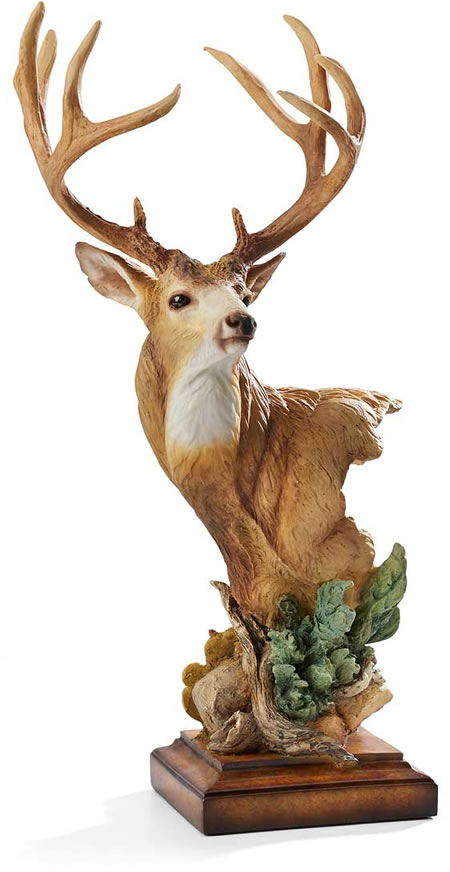 High Chaparral Mule Deer Sculpture
