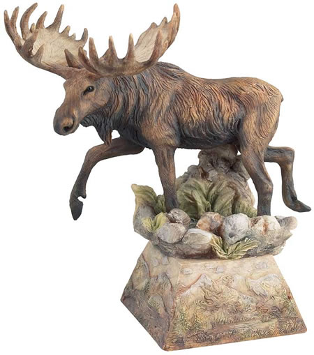 Ambler Moose Sculpture