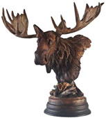 Twig Eater Moose Sculpture