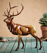 Aristocracy Elk Sculpture, Large
