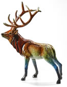 Aristocracy Elk Sculpture