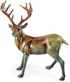 Suspense Deer Sculpture, Small