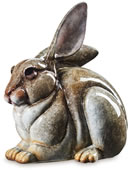 Dolby Long Eared Rabbit Sculpture