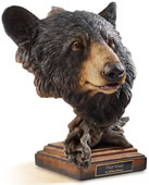 Deep Woods Black Bear Sculpture