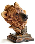 Timberline Brown Bear Sculpture