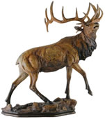 Majesty Elk Sculpture- Small