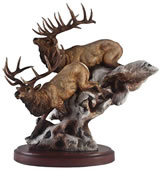Back Country- Elk Statue