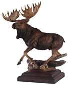 In His Prime, Moose Sculpture