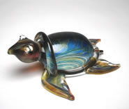 Calcedonia Glass Turtle