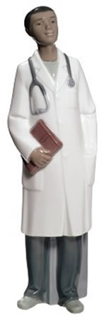 Doctor Figurine by NAO, Male