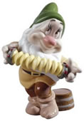 Bashful- Disney Dwarf Figurine