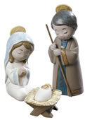 Porcelain Nativity Figurines