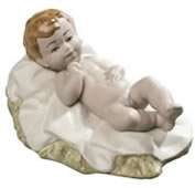 Baby Jesus Nativity Figurine by Nao