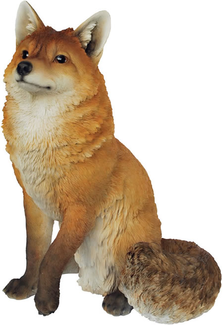 Sitting Fox Statue 19 Quot H Natures Gallery All Products
