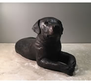 "Bronze Labrador Retriever Puppy-14""L"