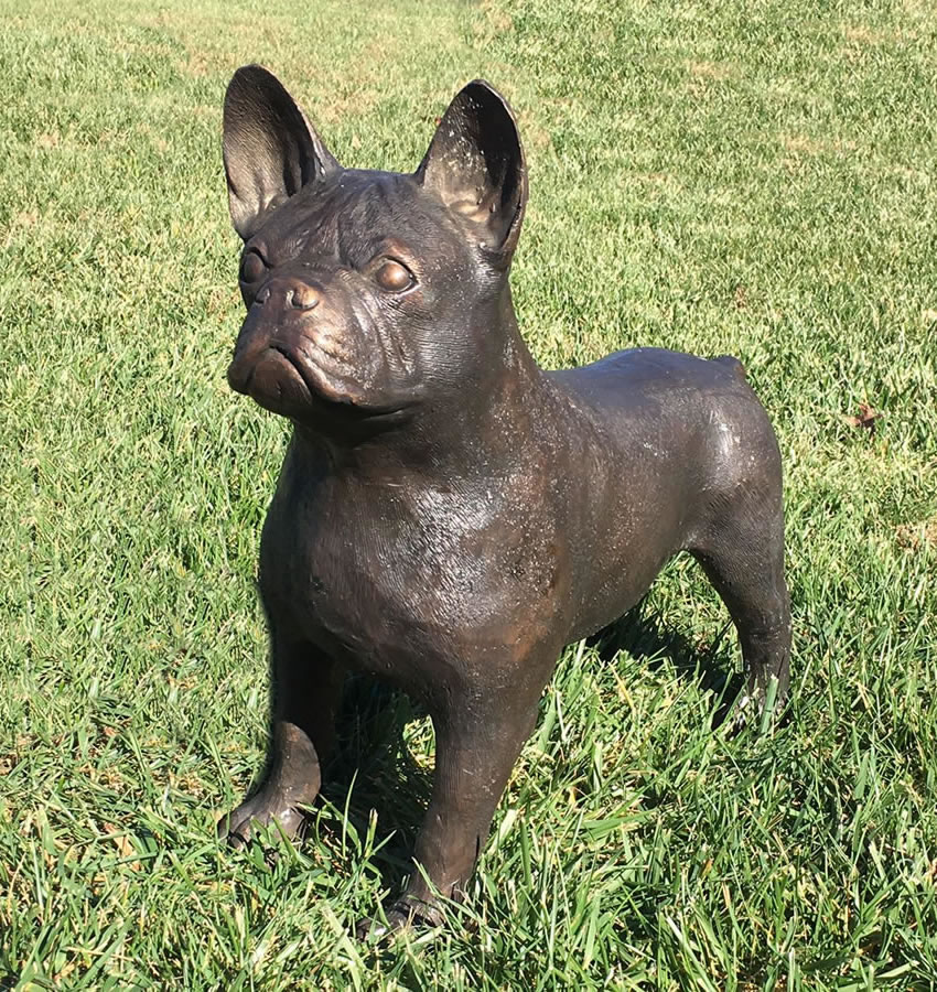 Bronze Boston Terrier Statue 18 5 Quot H Bronze Pa6598
