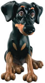 Nelson the Doberman