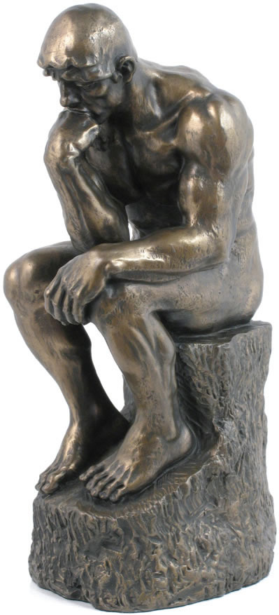 The Thinker Statue - 9.5 Inch