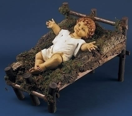 Fontanini Wood Cradle for Nativity- 50 Inch Scale