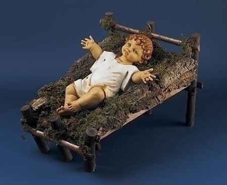 Fontanini Gowned Infant/Baby Jesus Nativity Statue