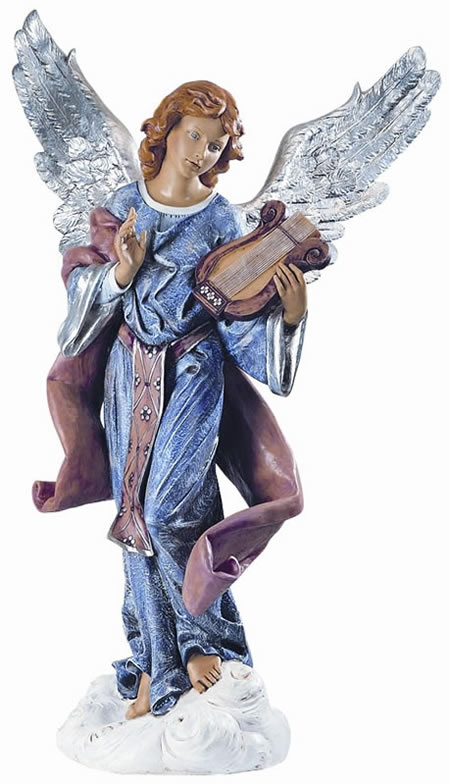 Fontanini Angel Standing on Cloud Nativity Statue