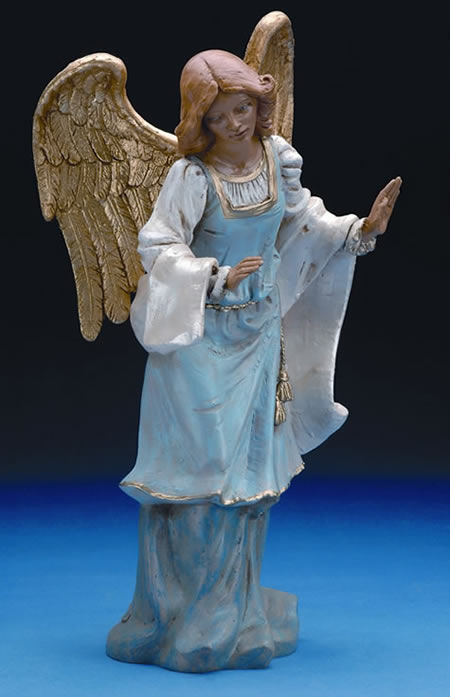 Fontanini Standing Angel Nativity Statue- 18 Inch Scale