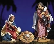 Fontanini Holy Family- 3 Piece Nativity Set, 27 Inch