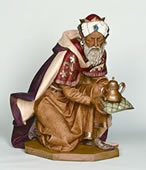 Fontanini Kneeling King Gaspar Nativity Statue