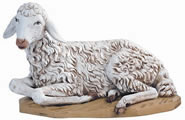 Fontanini Seated Sheep Nativity Statue