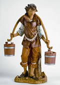 Fontanini Noah With Buckets Nativity Statue