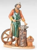 Fontanini Orion the Blacksmith, Village Nativity Statue