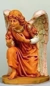 Fontanini Kneeling Angel Nativity Statue- 27 Inch Scale