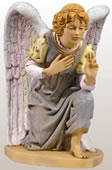 Fontanini Kneeling Angel Nativity Statue