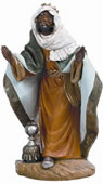 Fontanini Standing King Balthazar Nativity Statue- 18 Inch Scale