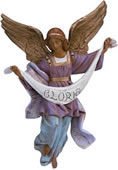Fontanini Gloria Angel Nativity Statue- 12 Inch Scale