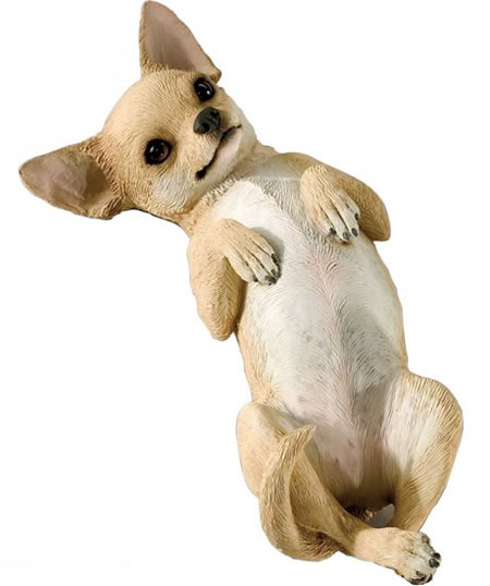 Tan Chihuahua Statue by Sandicast