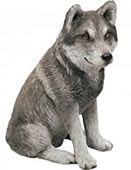 Mexican Wolf Figurine by Sandicast