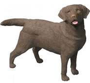 Labrador Retriever Statue- Chocolate