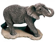 African Elephant Statue by Sandicast