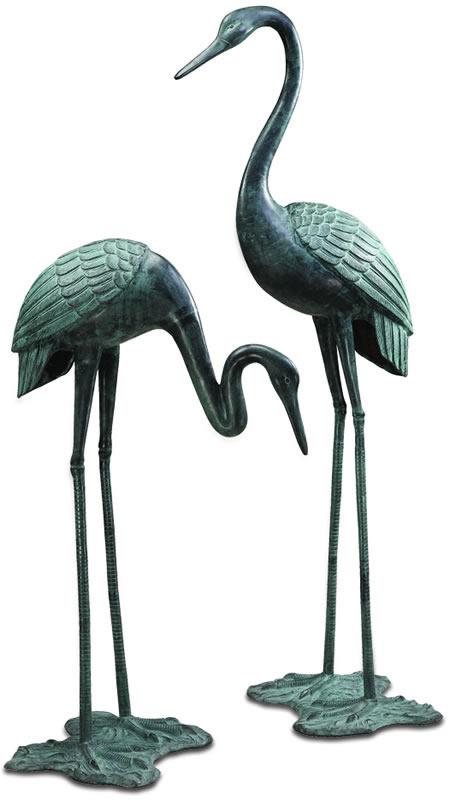 Garden Crane Pair, Large