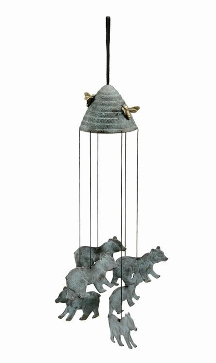 Bears & Beehive Wind Chime